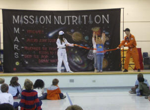 Mission Nutrition - Move and Exercise!